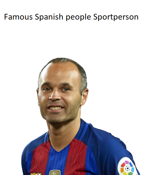 The Famous Spanish people Sportperson Reviews
