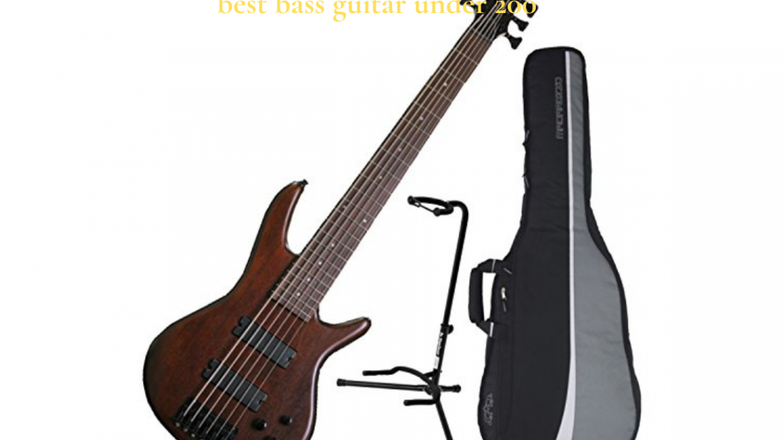5 Best Affordable Bass Guitars Under $200 – Enthusiasts On A Budget